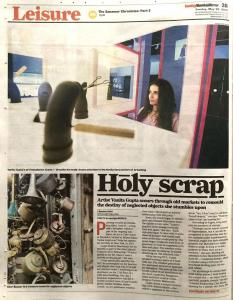 May 26, 2019 - Mumbai Mirror – Holy Scrap - pg 1