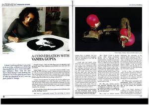 2015 - july - Art and Deal magazine, New Delhi - pg1