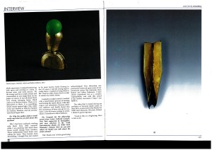 2015 - july - Art and Deal magazine, New Delhi - pg2